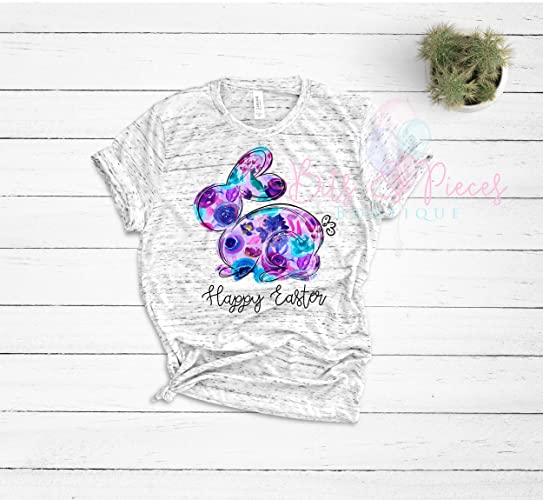 8b6e2ba2 Amazon.com: Easter Bunny Shirt | Womens Easter Shirt | Floral Bunny | Mom  Easter Shirt | Mom | Wifey | ASub: Handmade