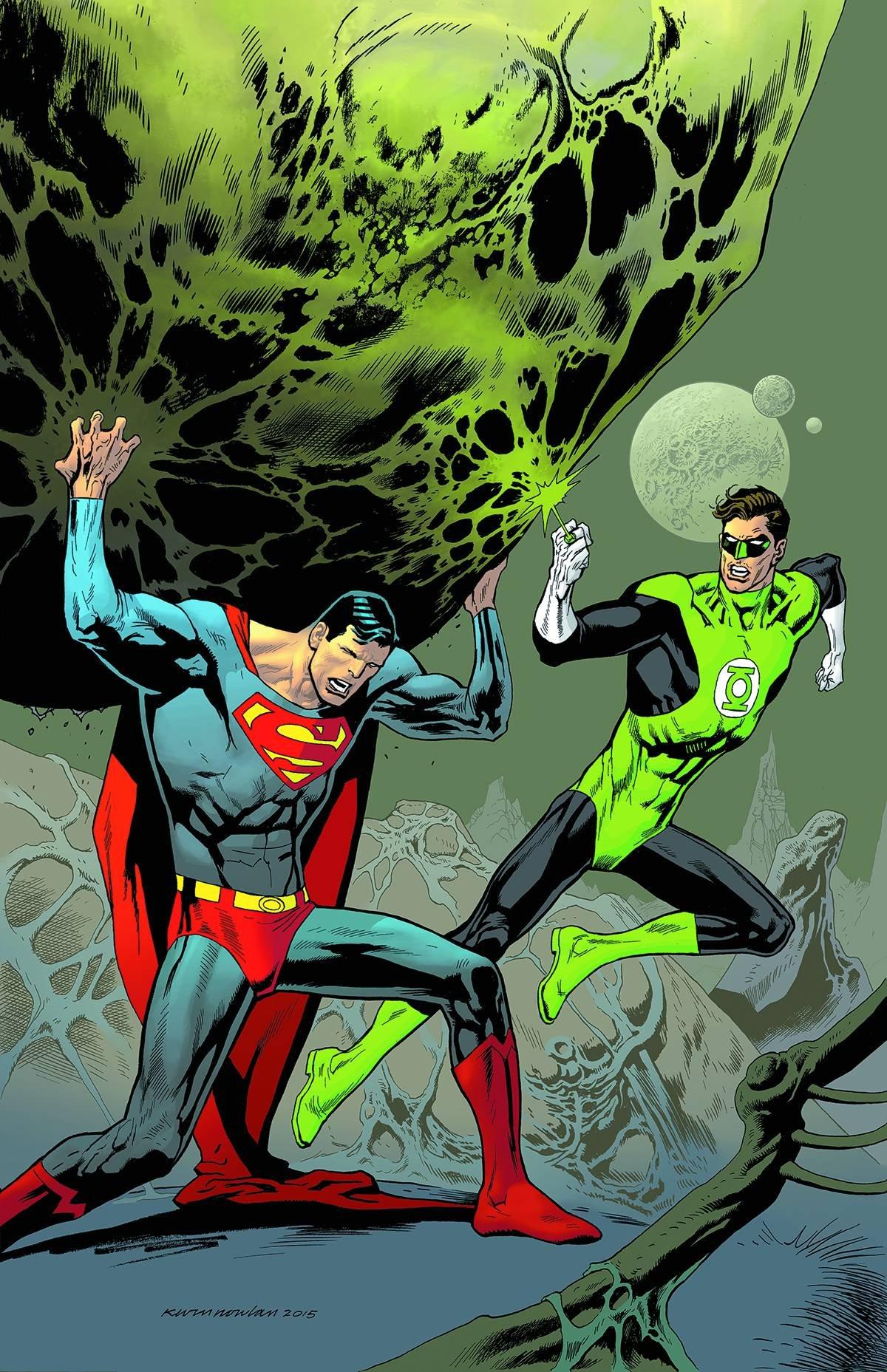 SUPERMAN #44 GREEN LANTERN 75 VAR ED pdf epub