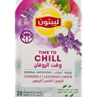 Lipton Time To Chill Herbal Infusion, 20 Bags - Pack of 1
