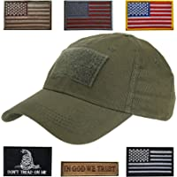 4e5060afb Lightbird Tactical Hat with 6 Pieces Tactical Military Patches, Adjustable Operator  Hat, Durable Tactical