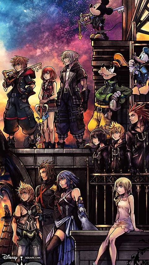 ディズニー キングダム ハーツIII XFVGA(480×854)壁紙画像