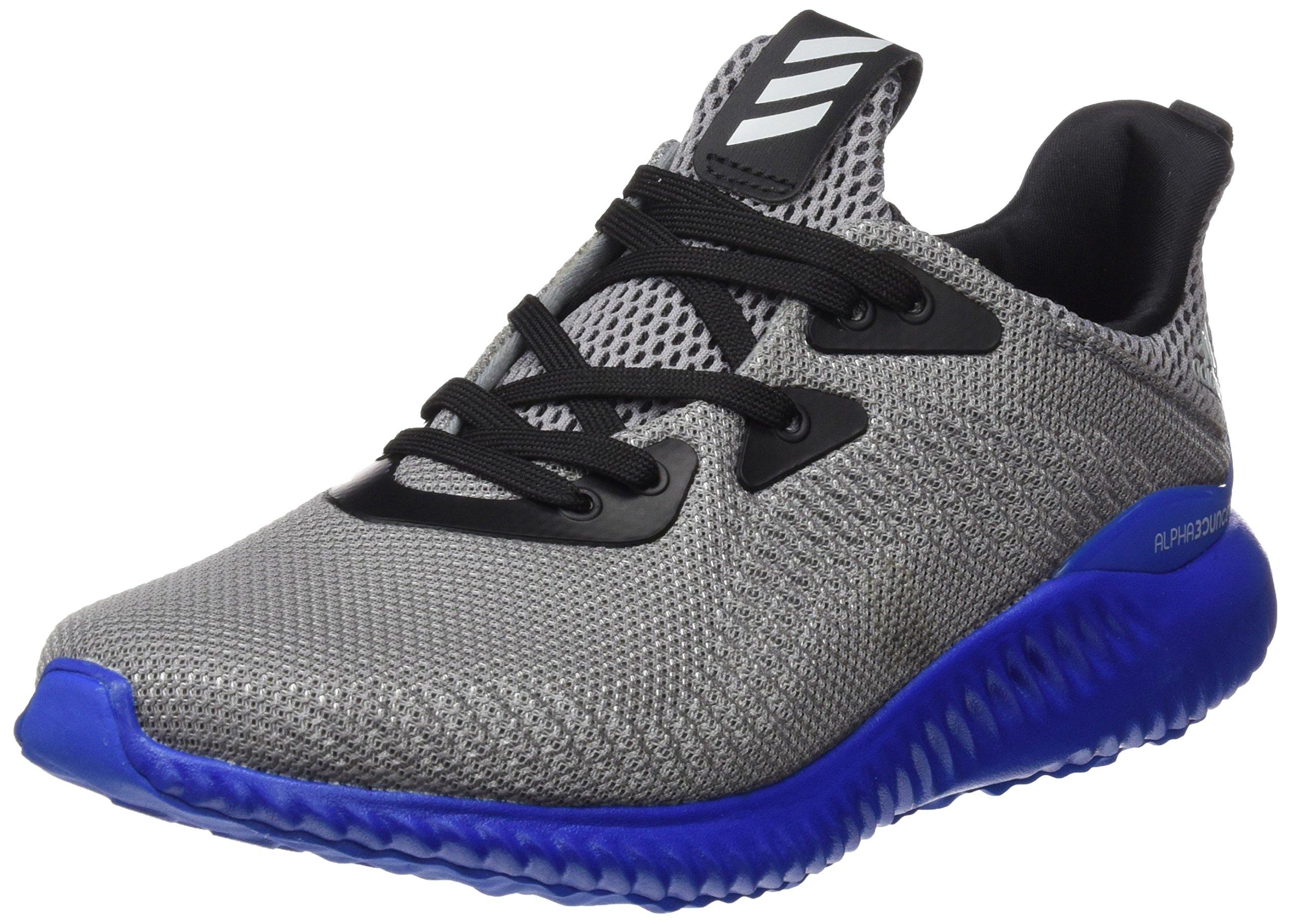 adidas Boy's Alphabounce Trainers US5 Grey