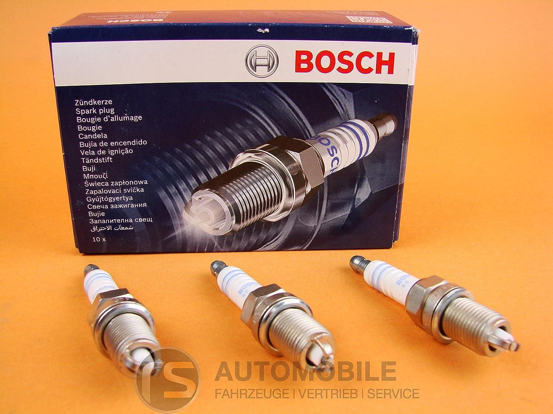 Bosch Super Plus Flr8ldcu Spark Plug Pack Of 3 Auto