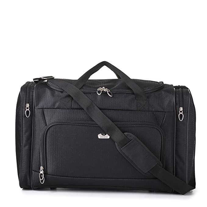 ba9f6442ba Carry On Sized Lightweight Small Luggage Cabin Holdall Duffel Bag -  21.1 quot  x 15.7 quot