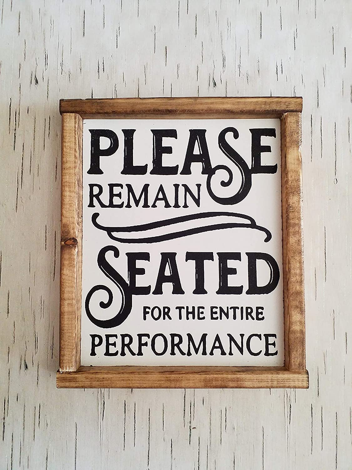 Funny Quote Print For Bathroom Home Garden Please Remain Seated For The Entire Performance Tapestries Home Garden Home Décor