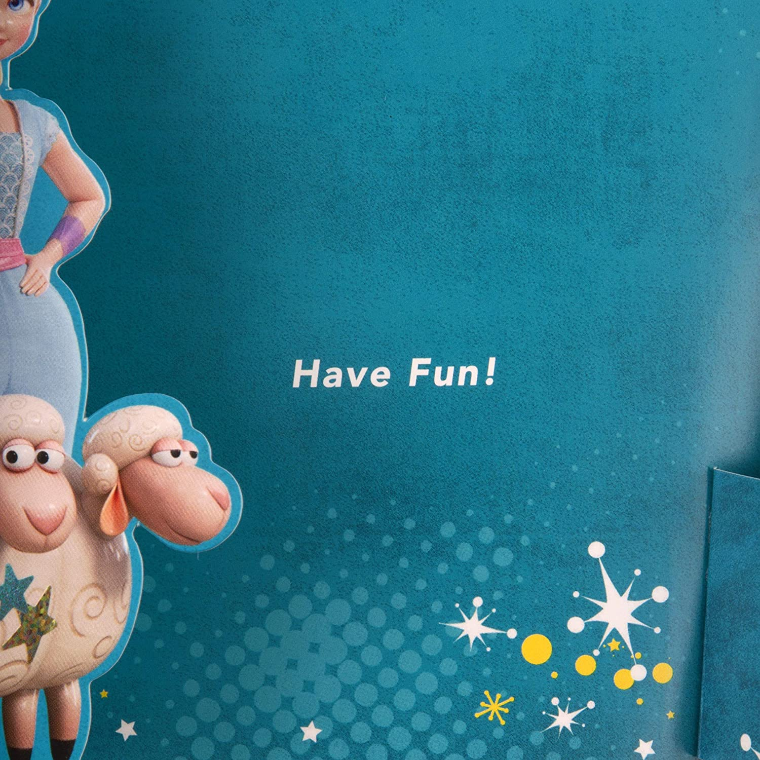 Toy Story 4 Birthday Card for Kids from Hallmark 3D Pop-Out Design