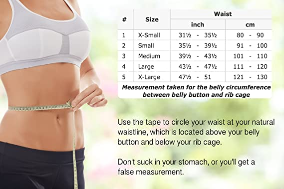"Large, Waist/Belly 43½ - 47½, White : TOROS-GROUP Ergonomic Umbilical Navel  Hernia Belt/Abdominal Support Brace - Large, Waist/Belly 43½"" - 47½"" White:  Amazon.in: Sports, Fitness & Outdoors"