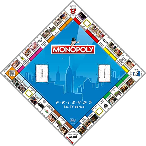 ELEVEN FORCE Monopoly Friends, multicolor, Talla Única (12135): Amazon.es: Juguetes y juegos