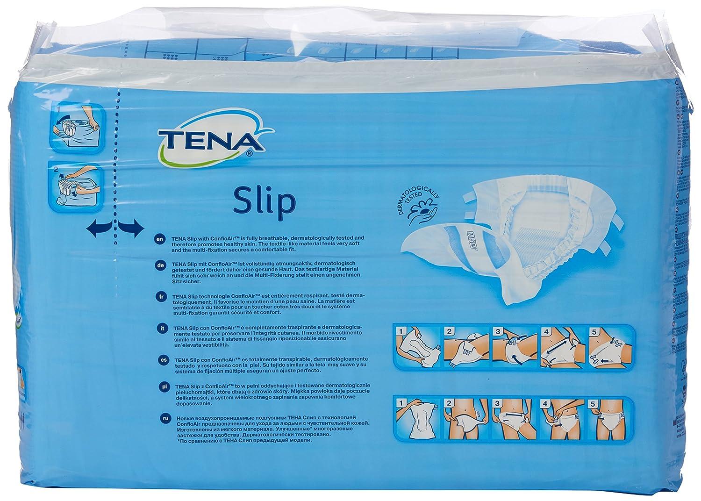 Tena Slip - Pañales, paquete de 30, color blanco: Amazon.es: Salud y cuidado personal