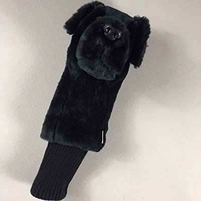 Stuffed Daphne Golf Club Headcover Black Lab Dog Labrador Equipment Driver Plush Puppy: Toys & Games