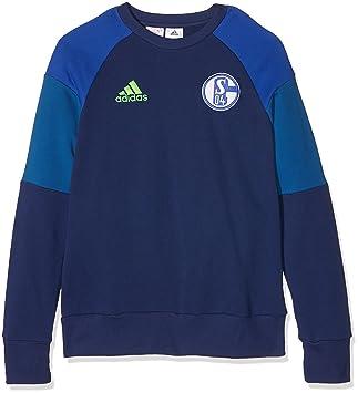 adidas Kinder Schalke 04 Sweatshirt: : Sport & Freizeit