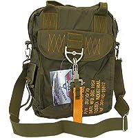 SBB Bolsa para Bag 4 – Paracaistas Style con mosquetón de liberación rápida y llavero Follow Me/Remove Before Flight