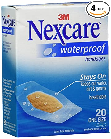 Nexcare Waterproof Clear Bandage, Assorted Sizes | Walgreens