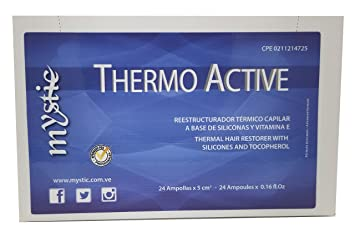 Mystic Thermo Active Hair Ampoule – Thermal Hair Repair Anti-Frizz Treatment – Exceptional Shine