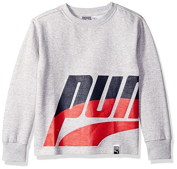 85ce3b2ac7d5 Amazon.com  PUMA Little Boys  Fleece Sweatshirt  Clothing