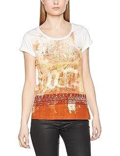 Bella-V17, T-Shirt Femme, Multicolore (Estampado Bella-V17), MSidecar