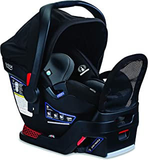 product image for Britax B-Safe Endeavours Infant Car Seat - Rear Facing | 4 to 35 Pounds - Reclinable Base, 3 Layer Impact Protection - SafeWash Fabric, Otto