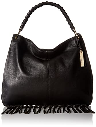 Vince Camuto Libby Hobo, Black: Handbags: Amazon.com