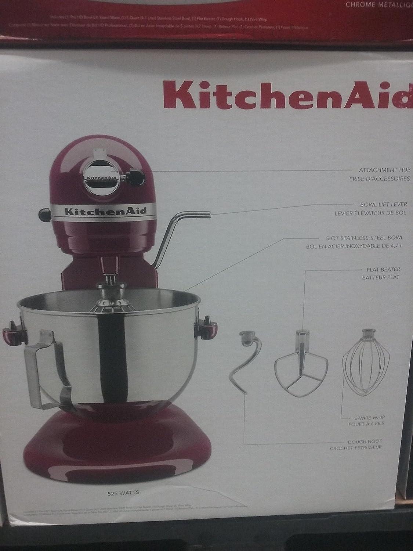 Kitchenaid Professional HD Series 525 Watt Mixer KG25H0XPT
