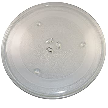 HQRP 12.5-inch Glass Turntable Tray for Apollo 335A10 AD13, AD13W, AD-
