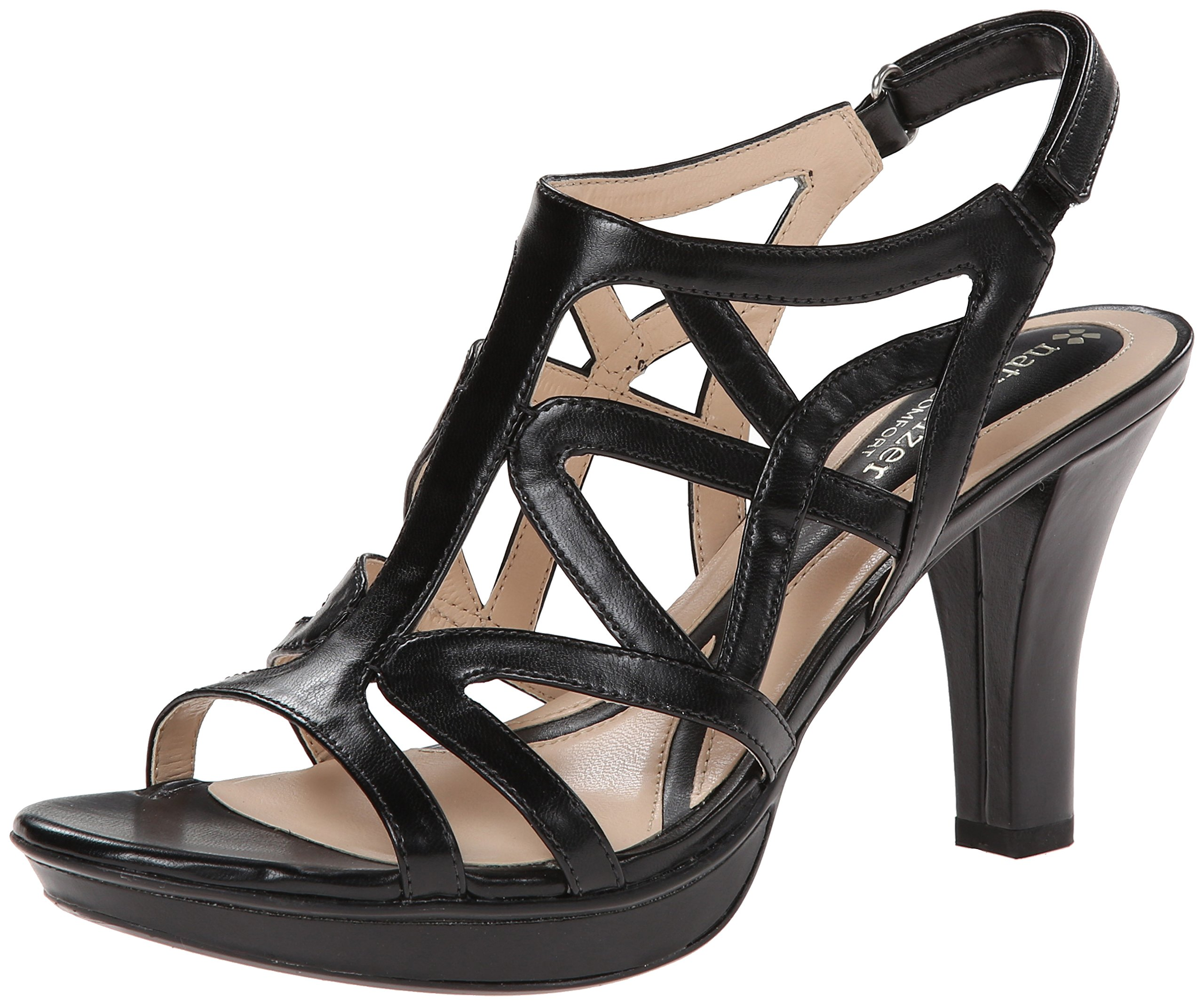 Naturalizer Women's Danya Dress Sandal,Black,7.5 M US by Naturalizer