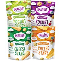 Deals on 4-PAck Imag!ne Cheese Stars and Yogurt Crisps Sampler Variety Pack