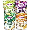 4-Count Imag!ne Cheese Stars and Yogurt Crisps Sampler Variety Pack
