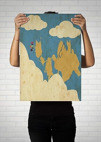 Up Poster // Disney Pixar Movie Poster // Vintage Up Prints ...