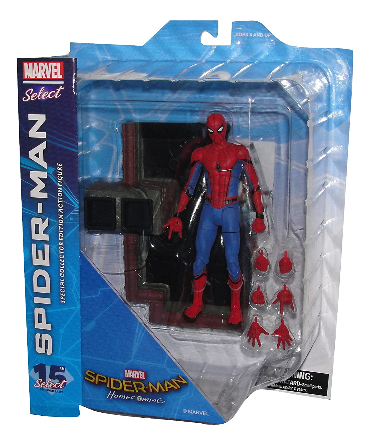 Diamond Select Toys Marvel Select Spider-Man Homecoming Films daction figure DCME7 FEB172613