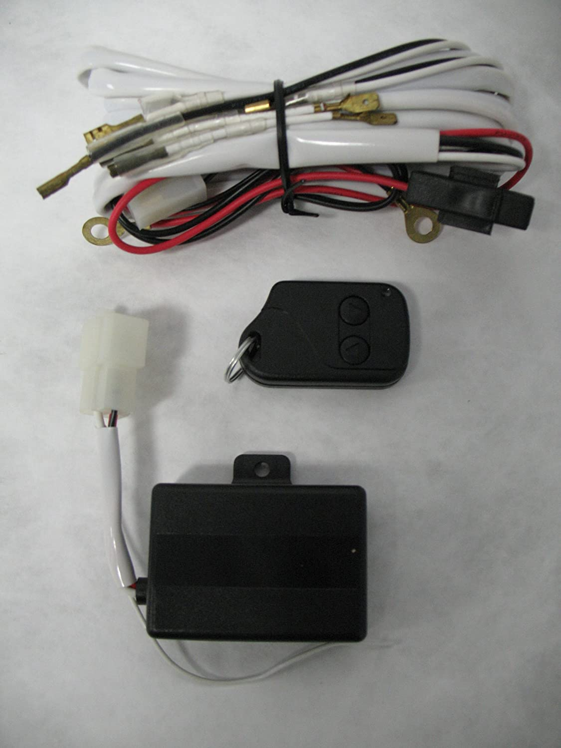 Amazon.com: Apc 509109 Remote Controlled Auxilliary Light Kit Wiring Harness:  Automotive