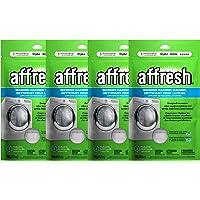 Affresh W10501250 - Limpiador de lavadora, 12 tabletas: limpia las arandelas de carga frontal y de carga superior…