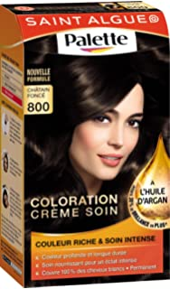 saint algue palette coloration permanente chtain 800 - Coloration Mousse Saint Algue