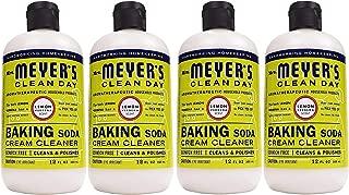 product image for Mrs. Meyer's Baking Soda Cream Cleaner, Lemon Verbena, 12 OZ (Pack - 4,Count,4)