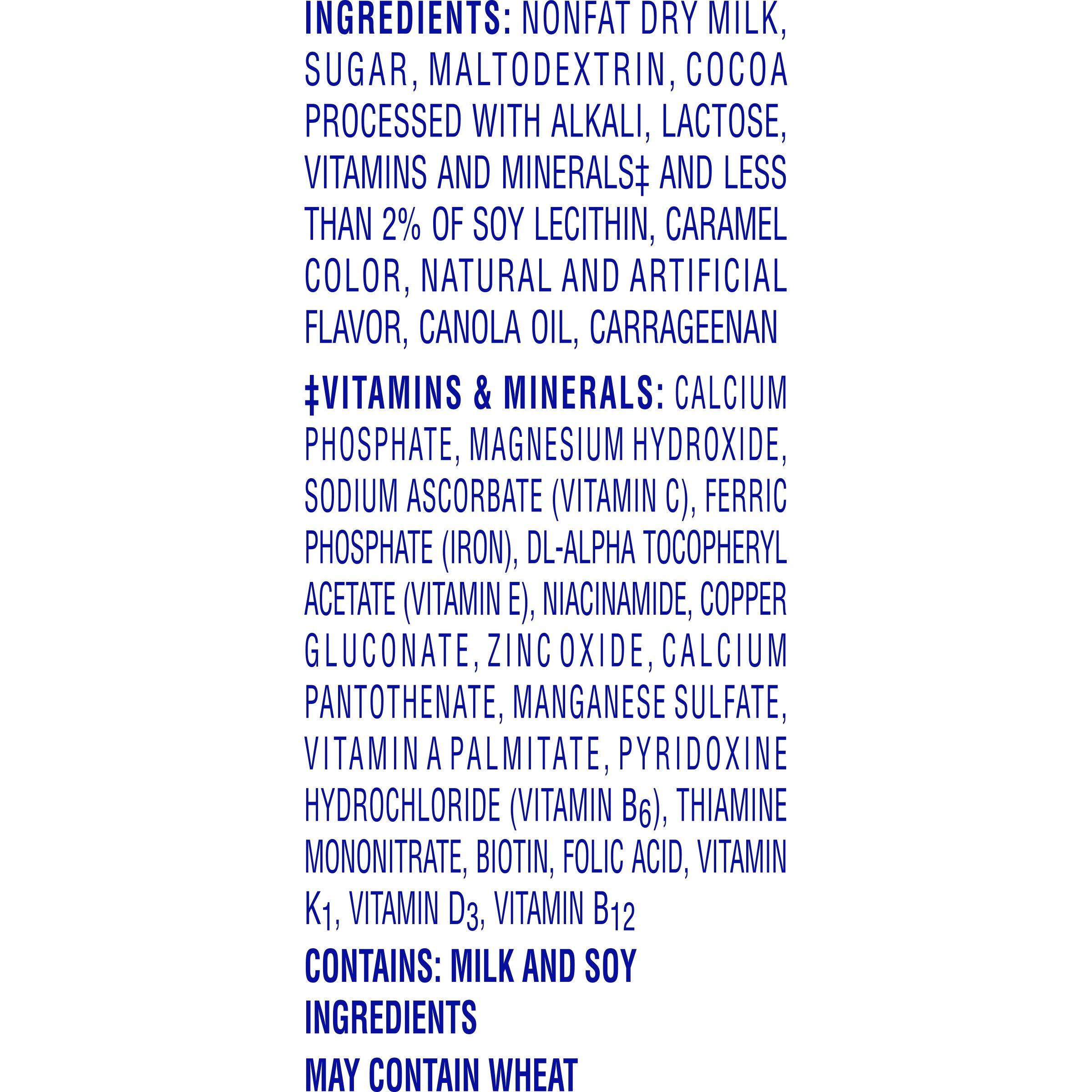 Carnation Breakfast Essentials Powder Drink Mix, Dark Chocolate, 10 Count Box of 1.26 oz Packets, 6 Pack by Carnation Breakfast Essentials (Image #3)