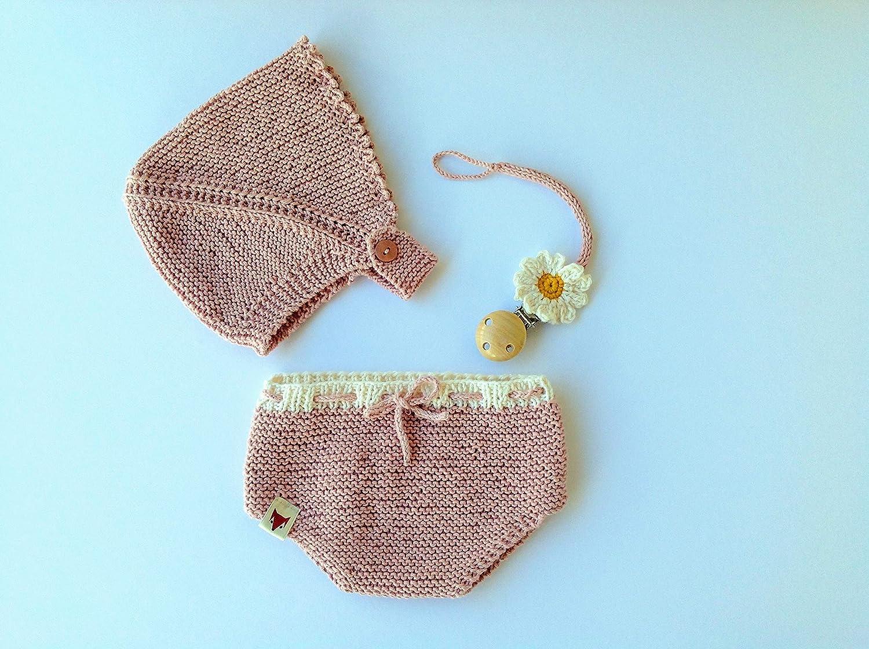 conjunto bebé primera puesta: Amazon.es: Handmade