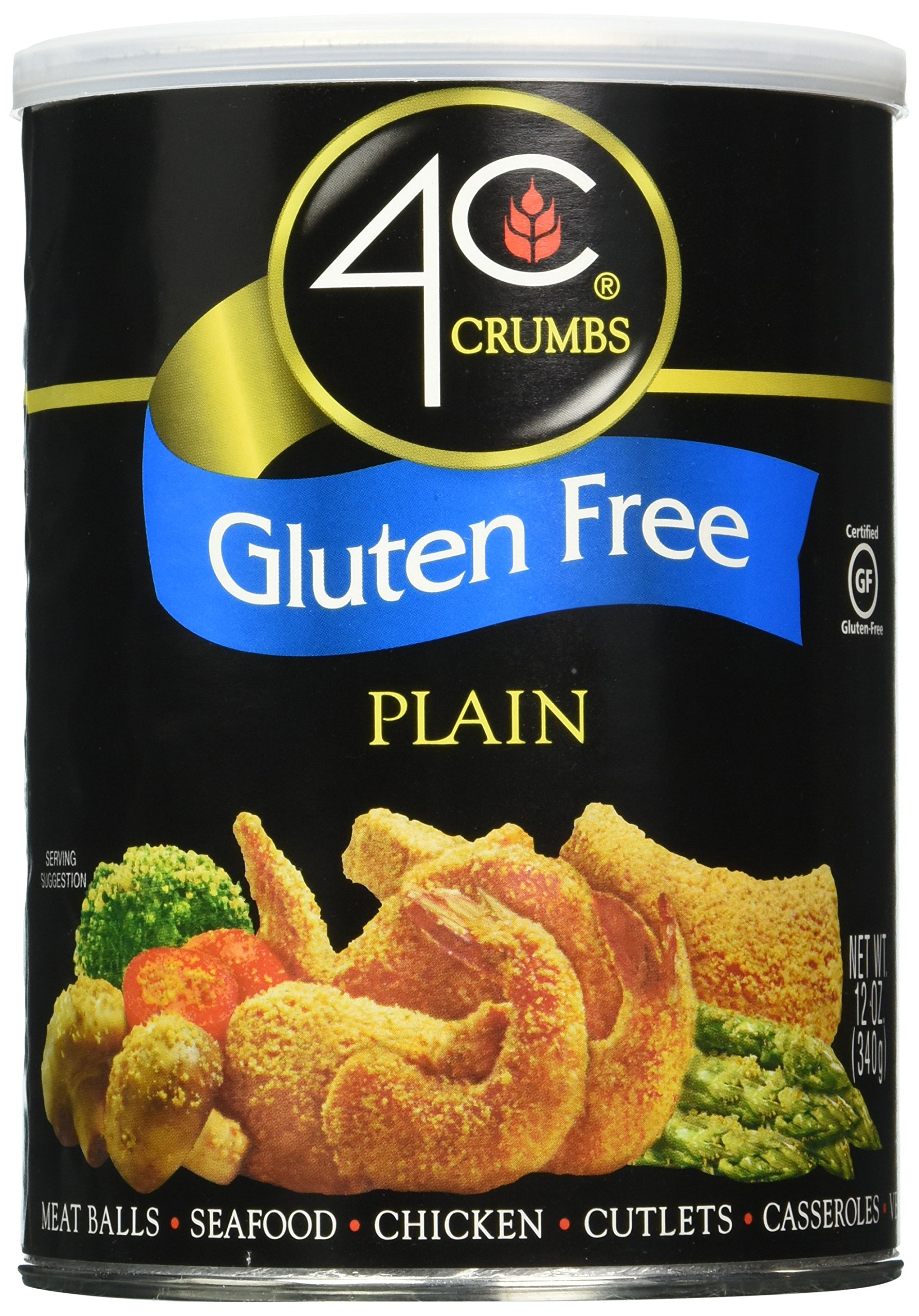 4C Gluten Free Crumbs Plain, 12 Ounce (Pack Of 2)