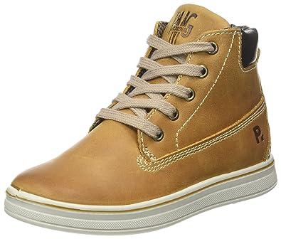 Primigi Jungen Pay 8630 Hohe Sneaker, Braun (Senape/T.Moro), 33 EU
