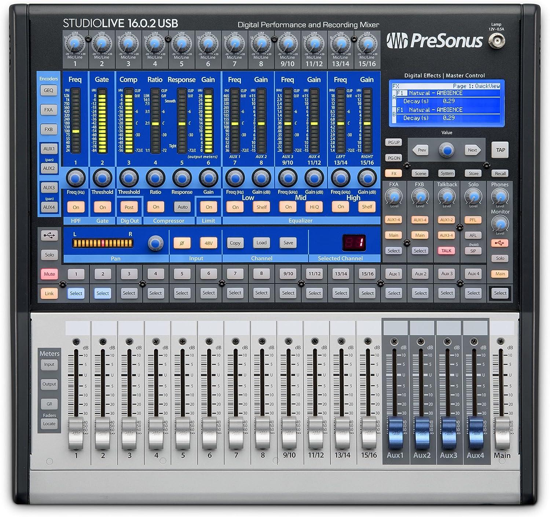 PreSonus デジタルミキサー StudioLive 16.0.2 USB