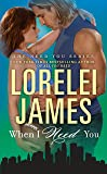 When I Need You (The Need You Series)