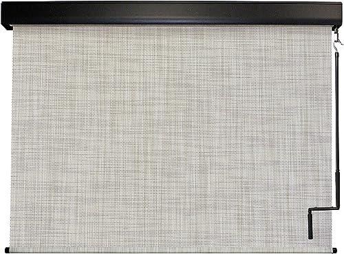 Keystone Fabrics Premium Outdoor Sun Shade, Cordless, 10-Feet by 8-Feet, Caribbean