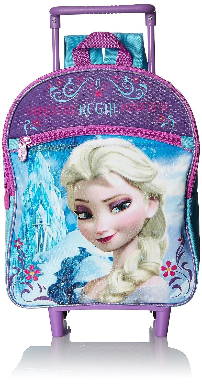 Disney Girls Rolling Backpack Purple Image 1