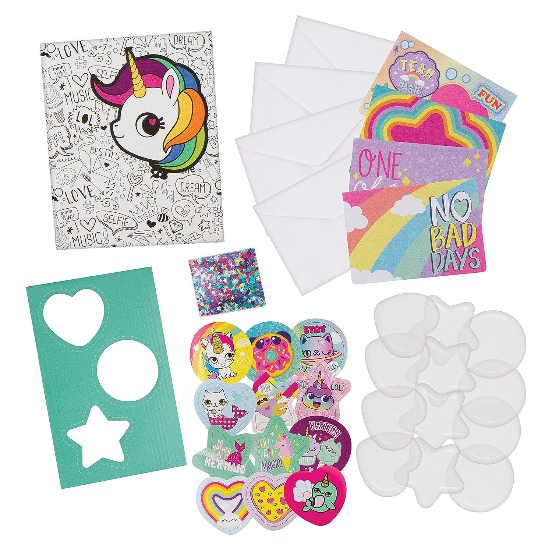Fashion Angels Sequin Shaker Sticker Design Kit w//Journal 12191