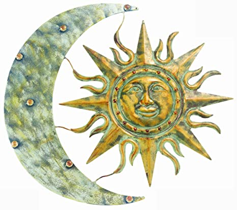 Amazon.com : Gardman 8415 Aztec Sun and Moon Wall Art, 26\
