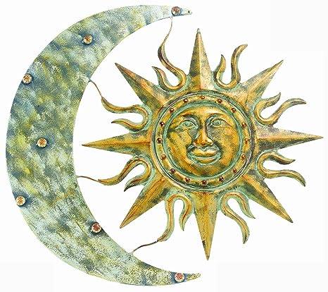 Amazon.com : Gardman 8415 Aztec Sun and Moon Wall Art, 26\