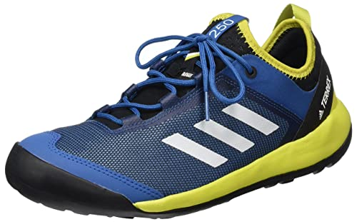 online store 06bb3 f2244 adidas Terrex Swift Solo Scarpe Running Uomo, Blu (Core Blue Chalk  White Unity Lime) 42 EU  Amazon.it  Scarpe e borse