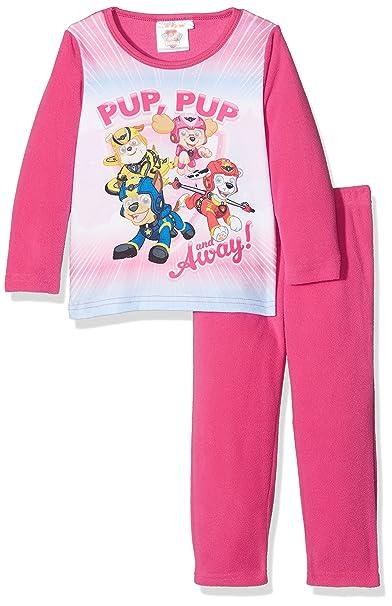 27b55ac64 Amazon.com  PAW PATROL GIRLS Skye and Everest Winter Fleece Pyjama ...