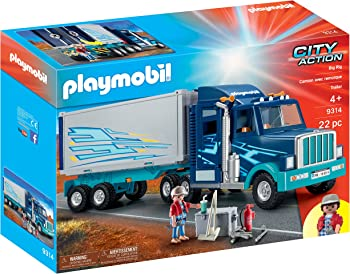 Playmobil 22-Piece Big Rig Building Set
