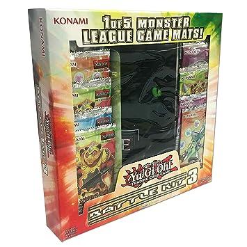 YuGiOh Monster League Sealed Play Battle Kit 3 [10 Packs & 1 ...
