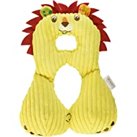Baby to Toddler Head and Neck Support Travel Pillow, 1-4 years – Perfect for Car Seats, Airplanes, and Strollers (Lion - Yellow, 1-4 years)
