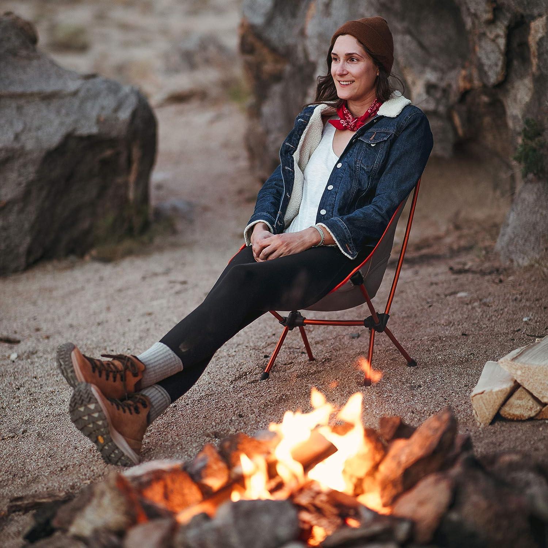 compatta e Pieghevole Helinox Chair One Sedia da Campeggio Leggera